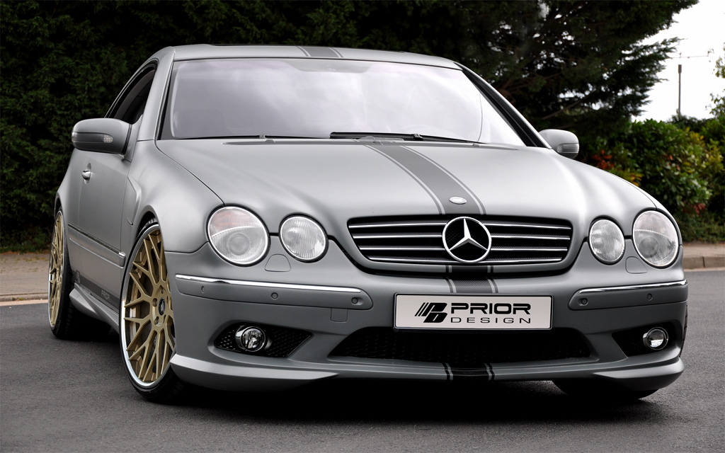 pare choc avant mercedes cl w215 look amg. Black Bedroom Furniture Sets. Home Design Ideas