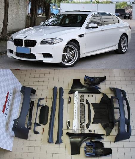 Mini Turbo Kit M5: Kit-carrosserie-M5-deisgn-avec-ailes-avant-pour-BMW F10