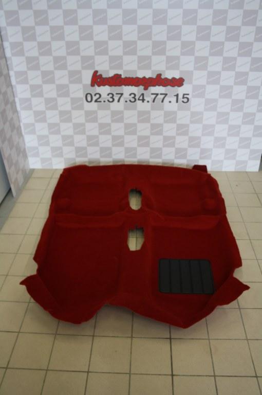 moquette neuve gti rouge insonorisants kustomorphose. Black Bedroom Furniture Sets. Home Design Ideas
