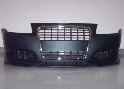 pare chocs av audi a3 8l 96 03 look s3 avec calandre noire chrome. Black Bedroom Furniture Sets. Home Design Ideas