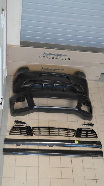 kit carrosserie complet golf 5 look golf 6 r20. Black Bedroom Furniture Sets. Home Design Ideas