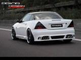 Pare chocs arrière Mercedes SLK R170