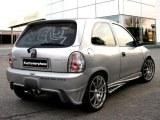 Pare chocs arrière Opel CORSA B