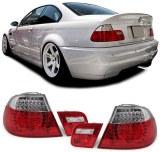 Feux Arrières à LED pour BMW E46 Coupé 99/03 Rouge Blanc