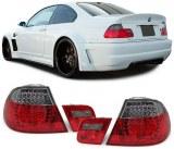 Feux Arrières a LED pour BMW E46 Coupé 99/03 Rouge Noir