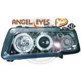 phares design, chrome A3 8L ANGEL EYES