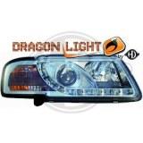 phares à LED diurnes, DragonLights, chrome AUDI A3