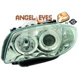 phares Angel Eyes fond Chrome BMW E87