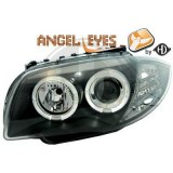 phares Angel Eyes fond noir BMW E87