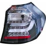 feux arriéré, BMW E87, 08-11 a led cristal/fumé-noir