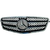 calandre Mercedes classe E W212 chrome/noir 09-2012