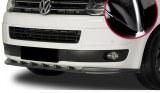 LAME DE PARE-CHOCS AVANT VW T5 09 a 2015 noir brillant