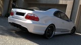 PARE CHOCS ARRIERE CLK LOOK C63 AMG