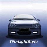 Feux diurnes, LED, VW Golf 4 R32, chromé