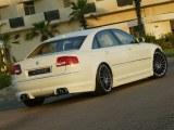 Rajout de pare choc aR Audi A8 D3 (4E) 2002 a 2005