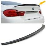 Becquet spoiler M-Performance Carbone pour BMW Série 4 F32