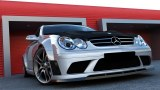 KIT CARROSSERIE + CAPOT MERCEDES CLK LOOK AMG BLACK SERIE