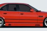 Bas de caisse avec prise d'air BMW E34
