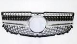 Calandre diamant pour Mercedes GLK X204 2012-2015
