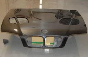 capot carbone bmw e46 coupé cabriolet 03-06 2 porte look m3 gtr