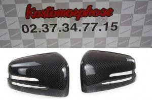 Coque de retro carbone Mercedes classe C W204 2011-2013