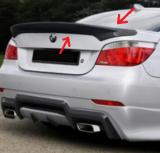 aileron becquet BMW E60