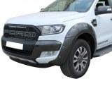 Extensions D'ailes Avant Et Arrières Pour Ford Ranger DOUBLE Cabine Gris Wildtrak