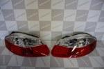 FEUX AR LED POUR PORSCHE BOXSTER 986 RED & CRYSTAL