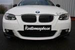 Flap Splitter carbone pour BMW Série 3 E92 E93 pack M 2006-2010