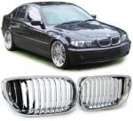 Grille de calandre chrome BMW Série 3 E46 berline phase 2