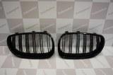 Grille de Calandre noir brillante double baton look M4 BMW E60 E61