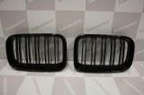 Grille de Calandre noir brillante double baton look M4 BMW E36 phase 1 1990 a 1996