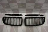 Grille de Calandre noir brillante double baton look M4 BMW E90 E91 phase 1 2005 a 2008