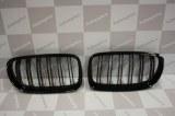 Grille de Calandre noir brillante double baton look M4 BMW E90 E91 phase 2 2008 a 2011