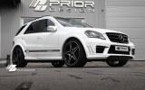 Pare choc av Mercedes ML look AMG PRIOR DESIGN