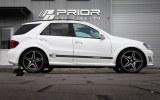 4 extension d'aile Mercedes ML PRIOR DESIGN