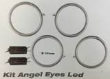 Kit angel eyes led CCFL - 131 mm universels