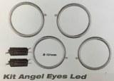 Kit angel eyes led CCFL - 131 mm universels