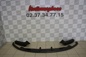 Lame splitter Carbone démontable bmw serie 2 F22 F23 Pack M Performance