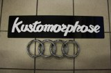Logo de calandre Audi A3 8P single frame