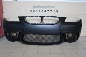 Pare choc av bmw E60 Look 1M en ABS avec emplacement antibrouillard