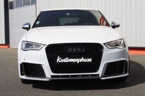 Pare choc avant Audi A3 8V RS3 design