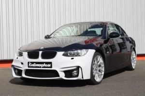 Pare choc avant pour BMW Série 3 E92 E93 phase 1 Look M4 avec emplacement des Anti-Brouillard