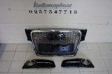 Kit calandre RS4 look + grille antibrouillard RS4 look