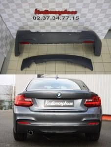 Pare choc arrière BMW serie 2 F22 F33 Pack M