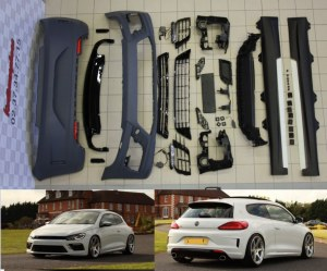 Kit carrosserie Scirocco R Facelift