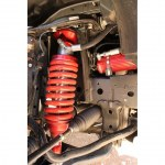 Kit Rehausse Complet PROFENDER Performance 2.5 +50mm Pour Ford Ranger