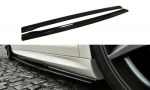 LAME DE BAS DE CAISSE POUR VW PASSAT CC R36 RLINE NOIR BRILLANT