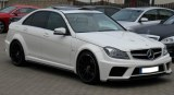 Mercedes Classe C W204 Berline 07-14 Kit complet large Black series AMG