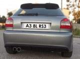 Pare choc arrière audi A3 8L look RS3